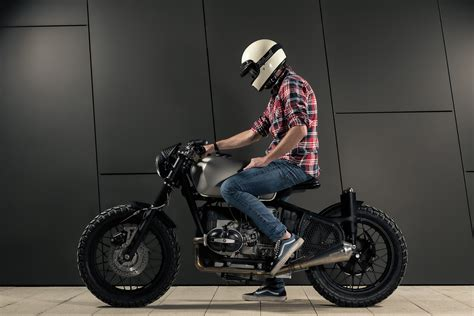 Mean Looking Modified Muscle Bike