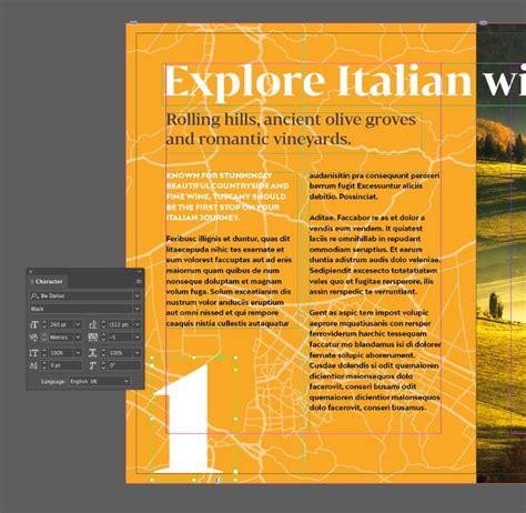 travel brochure template  indesign