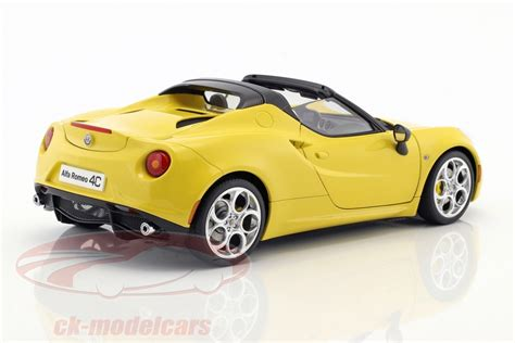 18 Alfa Romeo 4c Spider With Removable Top Year