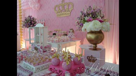 festa tema boneca princesa floral ana gabriela  aninho