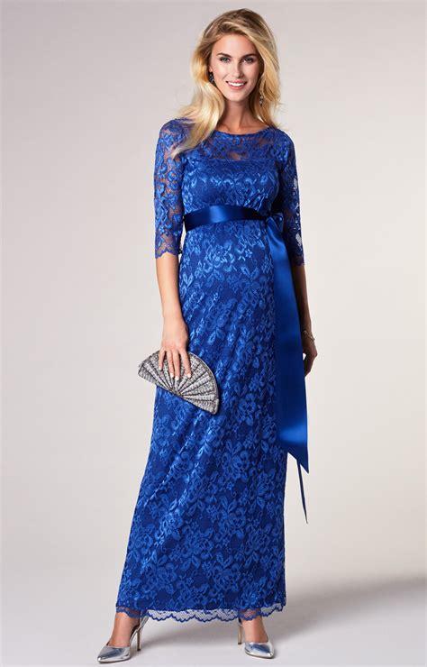 amelia lace maternity dress long windsor blue maternity wedding dresses evening wear
