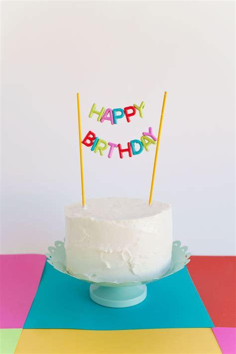 alphabet bead cake topper diy happy birthday cake topper