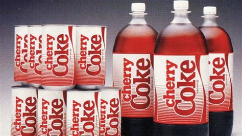 Image result for 1985 - Cherry Coke was introduced by the Coca-Cola Company.
