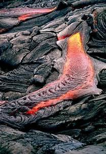 Pahoehoe Lava Flow