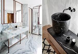 Marmor Im Bad : 13 tips til hvordan du bruker marmor p badet bo ~ Frokenaadalensverden.com Haus und Dekorationen
