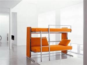 canape convertible en lits superposes doc design et confort With tapis design avec canapé convertible en lit superposé