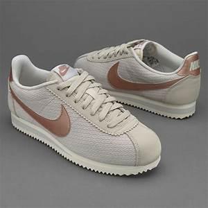 Light Grey Tops Womens Womens Shoes Nike Sportswear Womens Classic Cortez
