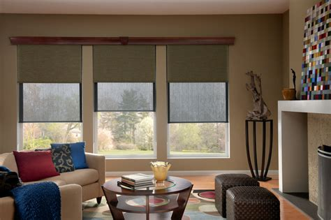 Solar  Roller  Dual Shades  Contemporary  Living Room. Beach Design Living Rooms. Black High Gloss Living Room Furniture. Rugs For Living Room Target. Ideas For Living Room Decorations. Overhead Lighting For Living Room. Grey Yellow Orange Living Room. Burgundy Living Room Curtains. Living Room Sales