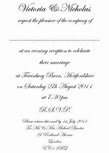 ideas for formal wedding invitation templates ipunya With wedding invitation template what to write