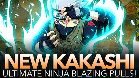 Luck Is Draining Out!!! New 5★ Kakashi Summons! (naruto