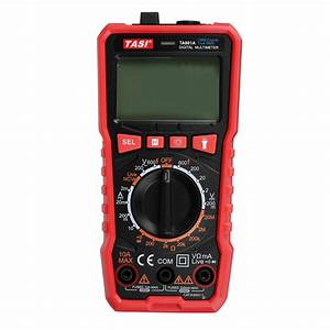 Ta801a Multimeter High Precision Manual Digital Ammeter