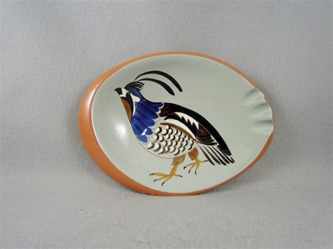 Stangl Ashtray Quail Collectible 3926a