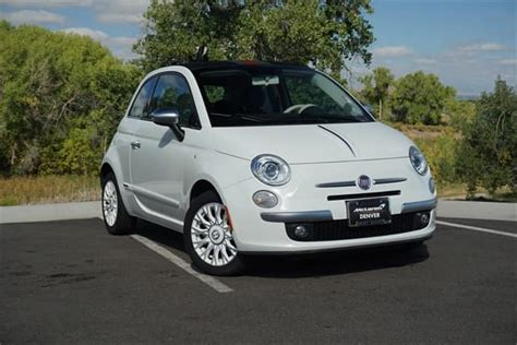 2012 Fiat For Sale by Gently Pre Owned 2012 Fiat 500c Lounge Convertible For Sale
