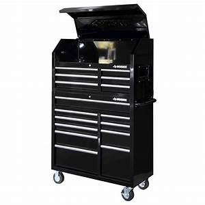 Husky 41 in 16-Drawer Tool Chest and Rolling Tool Cabinet