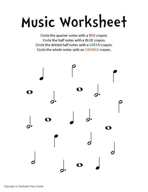 music worksheet charlottes piano studio lessons in west lorne ontario teaching