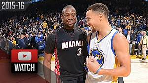 Stephen Curry Vs Dwyane Wade DUEL Highlights 20160111