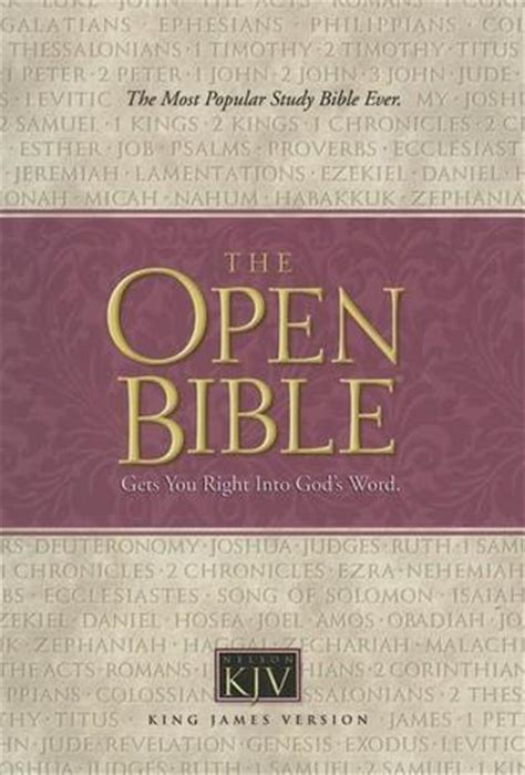 king james open bible  anonymous reviews