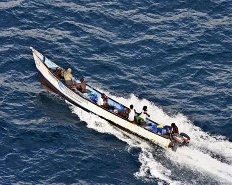 Big Boat Runs Over Fishermen by The Main Tool Used By Somalis To Hunt For Prize Is The