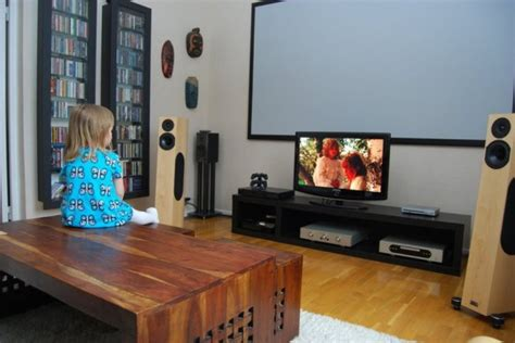 Home Entertainment Design Ideas by Scandinavian Living Room Entertainment Setups