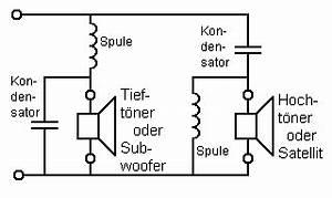 Frequenzweiche Berechnen 2 Wege : 2 wege frequenzweiche mit 12 db ~ Themetempest.com Abrechnung