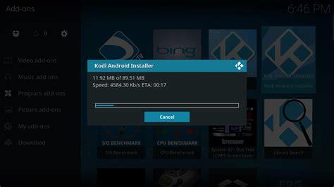 kodi android installer kodi open source home theater