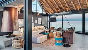 Ocean View Contemporary Luxury Home With Thatched Roof