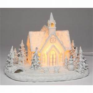 Musical Lighted Christmas Church FindGift