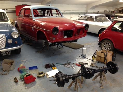 volvo amazon race car build cck historic