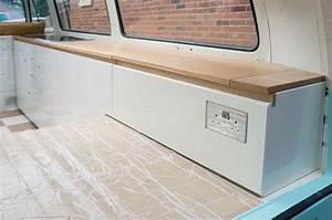 Dubteriors Cream & Oak VW T2 interior, individually built