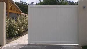 Portail Alu Coulissant 4m : portillon aluminium brico depot portail ~ Dailycaller-alerts.com Idées de Décoration