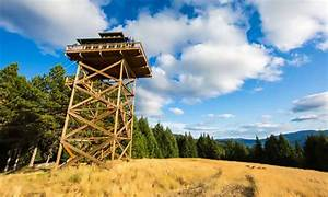 Couple converts forest fire lookout tower into lofty 388 ...