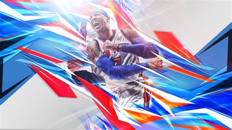 melo knicks   wallpaper basketball