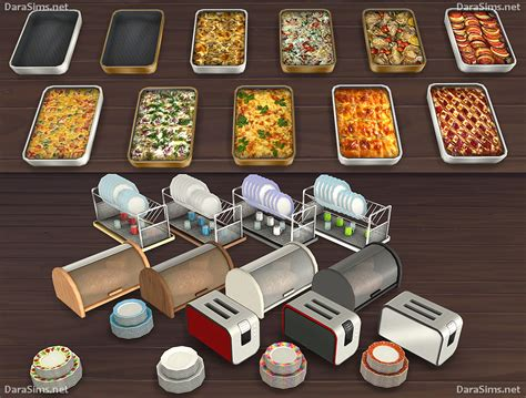 sims  blog kitchen clutter  food decor  dara