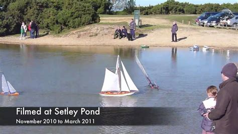 Model Boats New Forest by Model Boats At Setley Pond Part 1