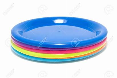 Plate Clipart Stack Plates Plastic Stacked Isolated