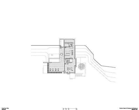 villa tugendhat floor gallery of villa gardone richard meier partners