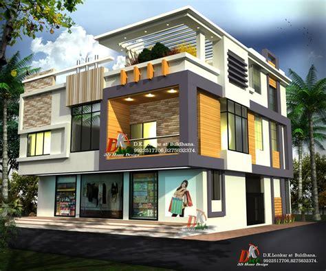 Home Design Ideas 3d by 3d Bungalow With Shop By D K 3d Home Design Architecture