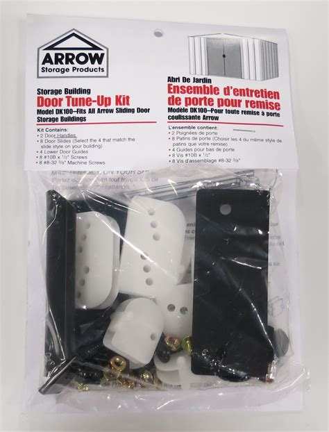 arrow sheds accessories door tune up kit