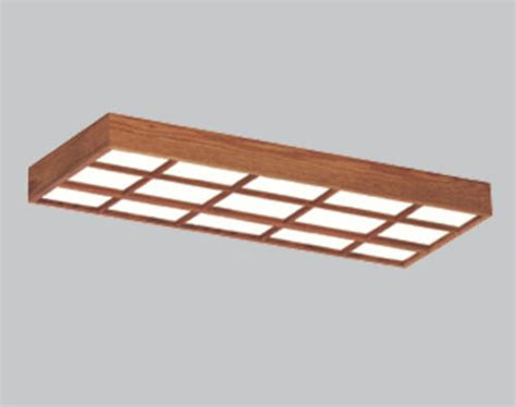 menards ceiling light fixture american fluorescent 49 1 8 quot 4 light t8 oak lattice frame