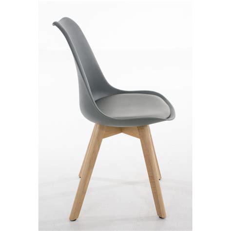 chaises lot de 6 lot de 6 chaises de salle à manger scandinave simili cuir