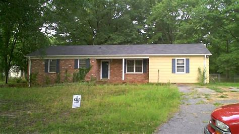 Really Cheap House For Sale In Inman, Sc  Youtube