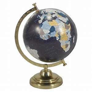 Desktop Globe w/ Gold Base - Threshold : Target