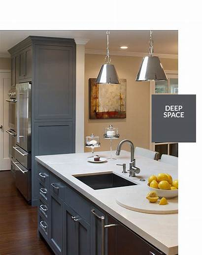 Cabinets Paint Gray Colors Cabinet Kitchen Benjamin