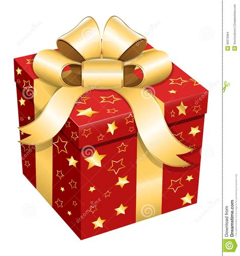 gift box christmas vector illustration stock images