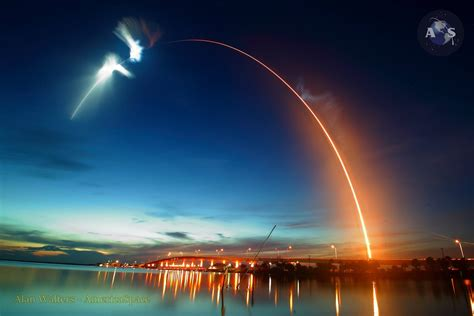SpaceX Launches CRS-15 Dragon Into Stunning Twilight to ...