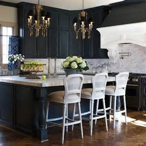 how to make kitchen island from cabinets i really like this idea black cabinets may make the