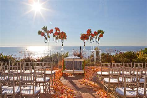 southern california fall inspired beach wedding