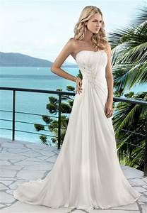 Summer wedding dresses for your dream summer wedding theme for Pretty summer dresses for a wedding