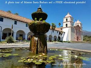 Mission Santa Barbara Free Activity Sheet and tour