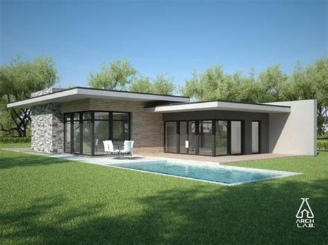 home building design modern single story house 5 flat roof modern house plans one story architectural